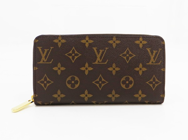 □【中古】 新同 【LOUIS VUITTON ルイ・ヴィトン】 ジッピーウォレット M42616 財布 モノグラム