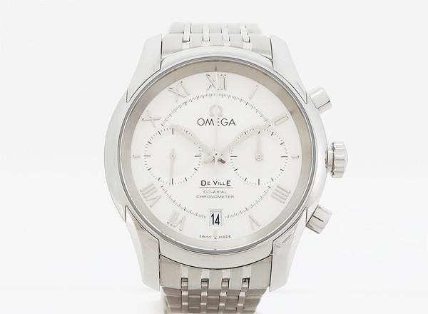 【中古】 【OMEGA オメガ】 デ・ヴィル コーアクシャル クロノメーター 431.10.42.51.02.001 自動巻腕時計