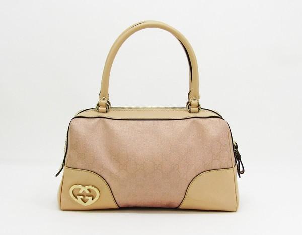 【中古】 【GUCCI グッチ】 GGラメキャンバス ハンドバッグ 257067 ハンドバッグ