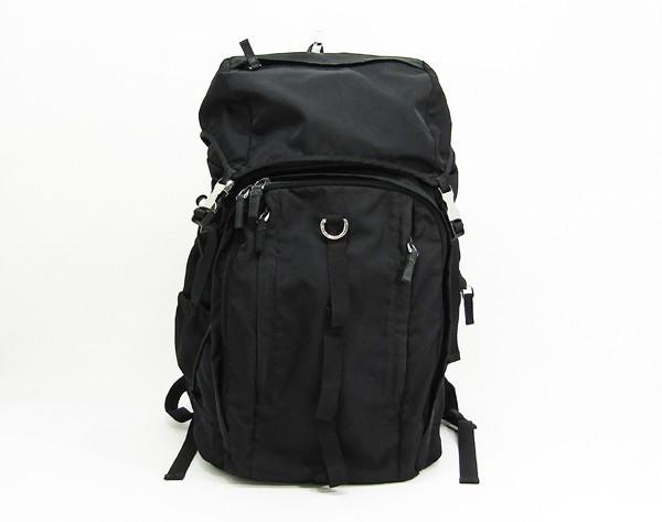 【中古】 【PRADA プラダ】 メンズ リュック VZ0056 リュック ブラック