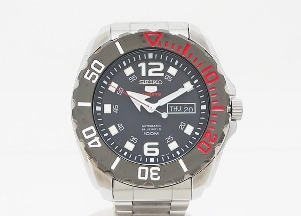 【中古】 美品 【SEIKO セイコー】 セイコー5 スポーツ SRPB35K1 自動巻腕時計