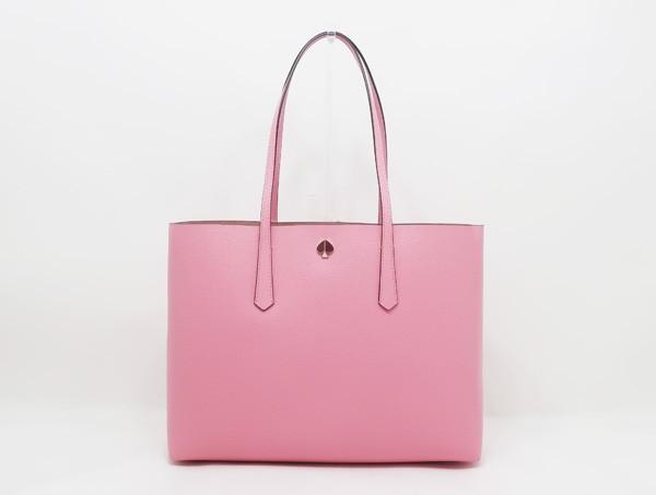 【中古】 新品同様 【Kate Spade ケイト・スペード】 モリー ラージトート PXRUA171 トートバッグ ピンク