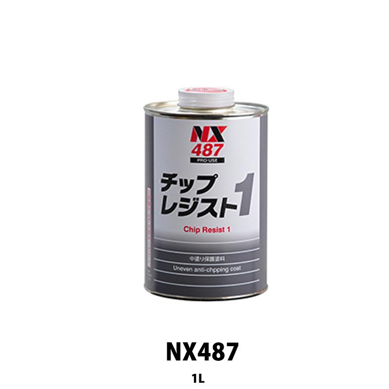 [個別送料] イチネンケミカルズ NX487 チップスレジスト1 1kg 1ケース(12個入)[取寄]