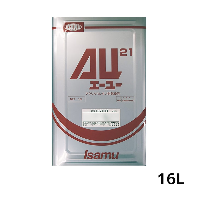 [大型配送品 代引き不可] イサム塗料 AU21シンナー 40 16L[取寄]