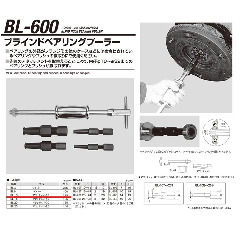 江東産業 BL-600-10 N01.ツメassy [取寄]