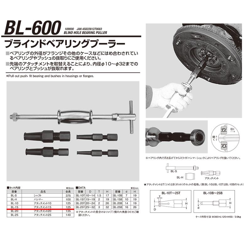 江東産業 BL-600-15 N02.ツメassy [取寄]