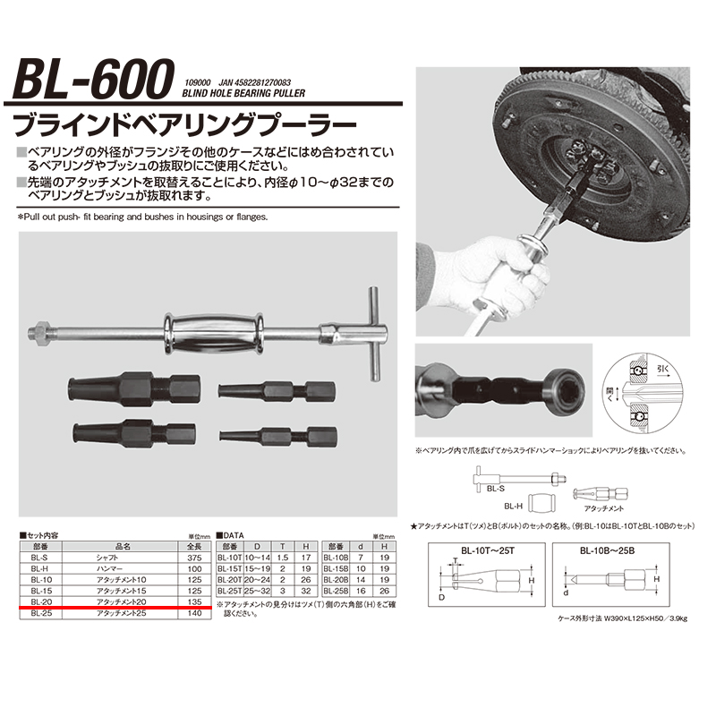 江東産業 BL-600-20 N03.ツメassy [取寄]