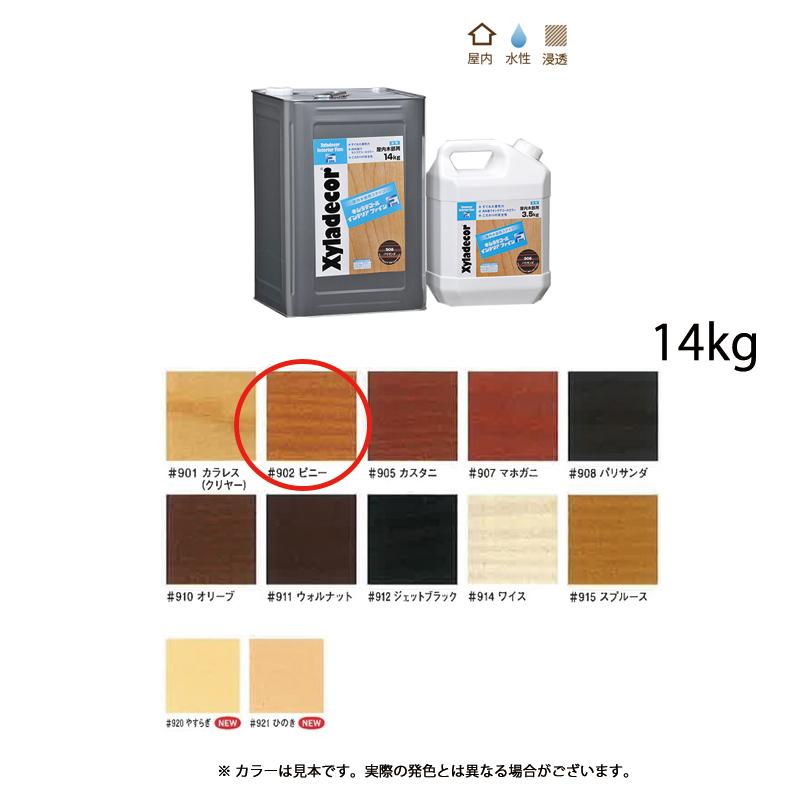 [個別送料] 大阪ガスケミカル キシラデコールインテリアファイン #902 ビニー 14kg [取寄]