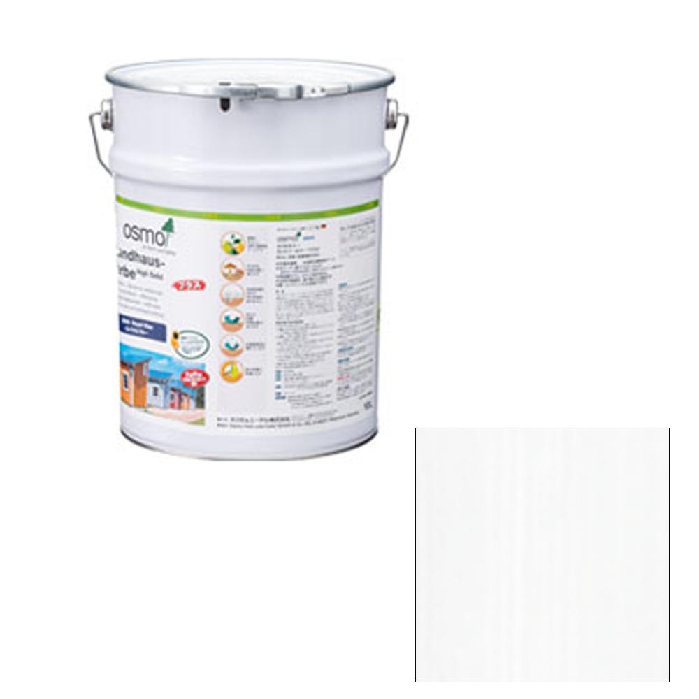 [メーカー直送 代引不可] OSMO オスモカラー カントリーカラープラス 外装兼用 2101 ホワイト 10L [送料無料]
