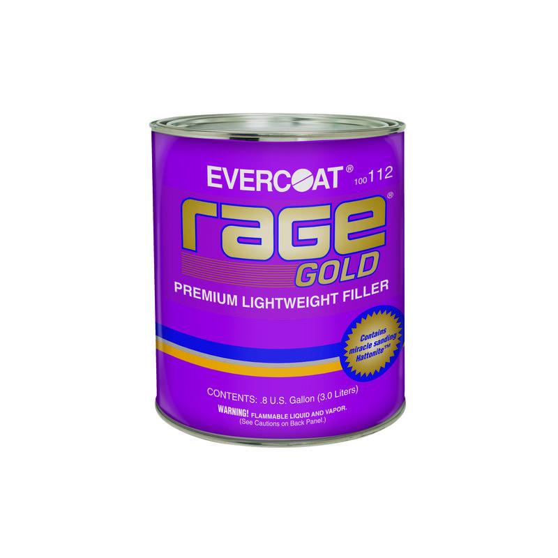 evercoat レイジゴールド 厚づけパテ Ec-Rg 3.0L 4個セット 硬化剤(大)付属[取寄]