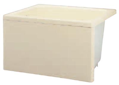 JFE FRP浴槽 3方全エプロン 据置タイプ 間口895mm 奥行695mm 高さ645mm FRPバスタブ 据え置き KFP90