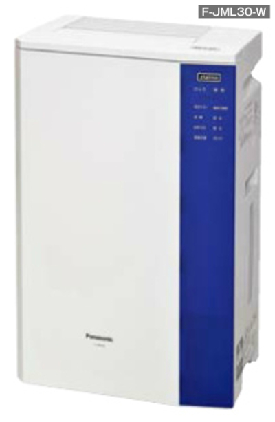 Panasonic 次亜塩素酸 空間洗浄機 ジアイーノ (床面積目安 24畳) コンパクトタイプ F-JML30-W ziaino パナソニック