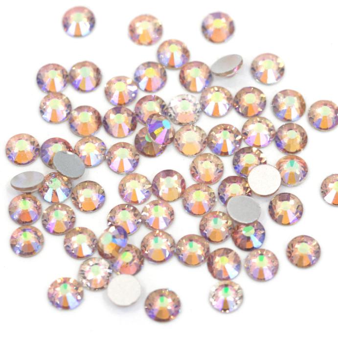 スワロフスキー同等の美しさ☆ ネイル 最新号掲載アイテム ハンドメイド製作にいつも以上の輝きを 選択 ガラス製ラインストーンシマーアメジストスワロフスキーと変わらない驚きの輝き☆ 超高級