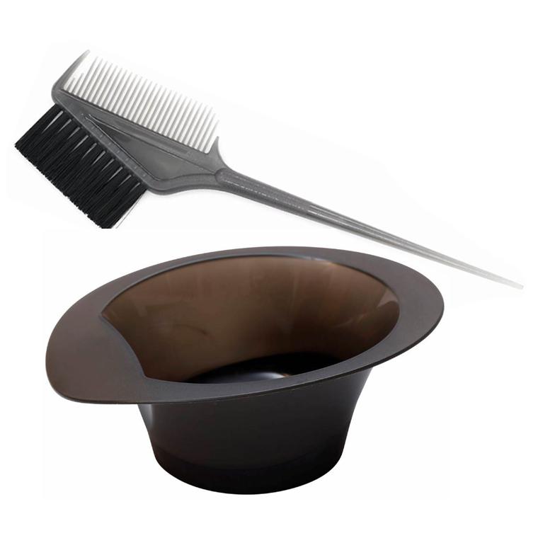 ヘアカラー ヘアダイ ブラシ コーム カップ ランキング総合1位 プロ用 数量限定 ヘアダイブラシ セット カラーリングカップ 美容師 サロン業務用