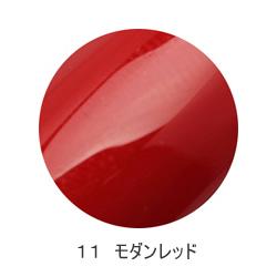モアクチュール More Couture ネイル モアジェル 11 5g 人気の定番 モダンレッド カラージェル 上品