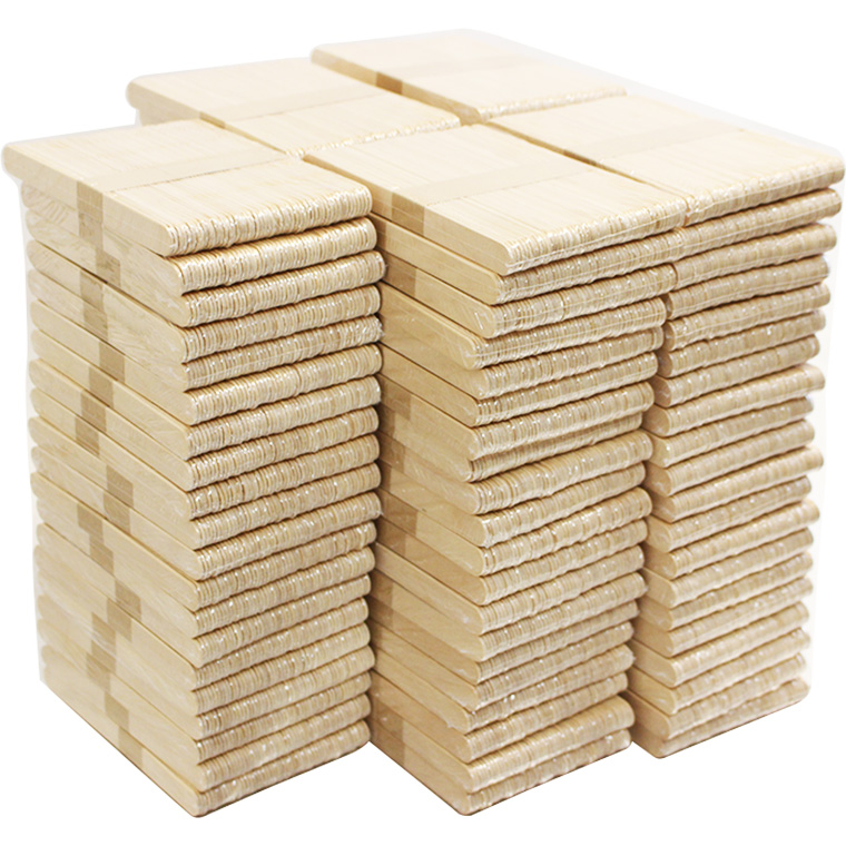 脱毛ワックス用 木製スパチュラ・木ベラ / 50本×100(5000本セット)