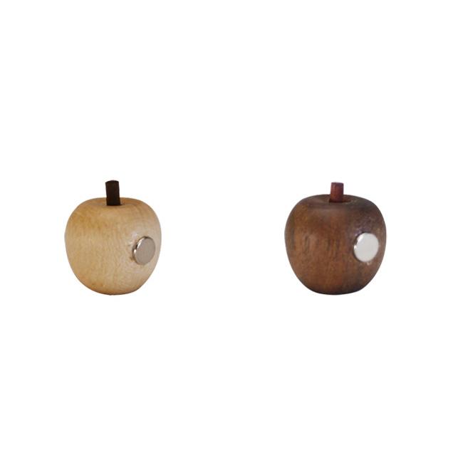 小さくても磁力が強いマグネットを使用 NT:108790 BR:108791 バースデー 記念日 ギフト 贈物 お勧め 通販 レターパック可 La Luz ラ 雑貨 りんご 5個セット リンゴマグネット 人気の製品 プチギフトにおすすめ ルース 木製