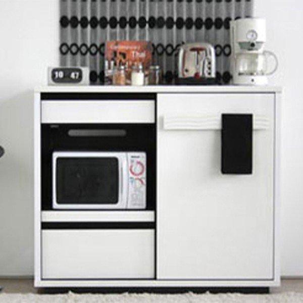 キッチンカウンター ホワイト おしゃれ 間仕切り 幅120 シュール ミドルボード キッチンキャビネット 日本製 完成品