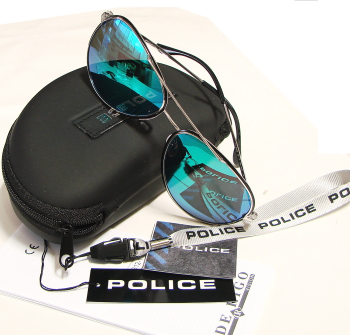 POLICE (polis) sunglasses NEYMAR JR 2014 Namur model S8299M K07C multi-layer green Miller genuine deligojapan