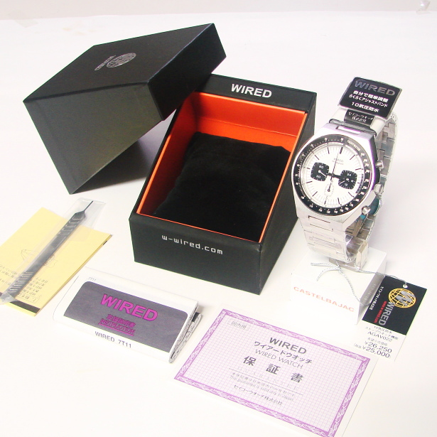 SEIKO ( Seiko ) ( wired ) WIRED Orient mens watch watch AGAV022 by Tomoki Sukezane
