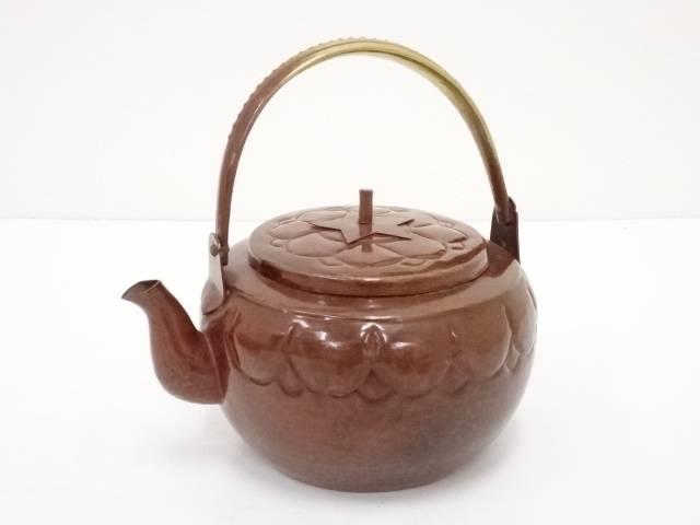 【煎茶道具】銅打出水注【送料無料】【中古】