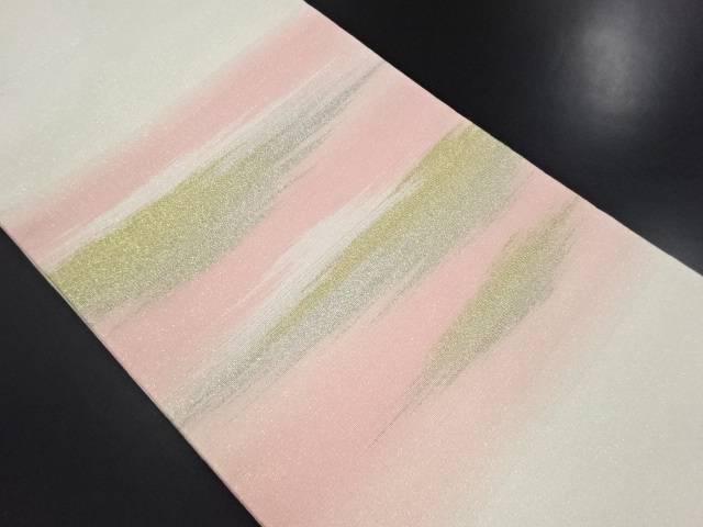 リサイクル 綴れ霞模様織り出し名古屋帯【送料無料】