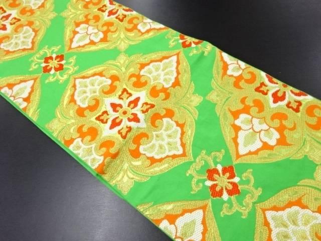 リサイクル 川島織物製 華紋織り出し本袋帯【送料無料】