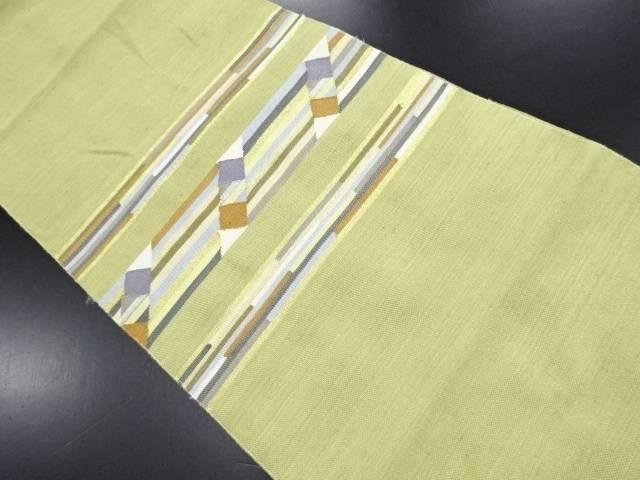 【セール30%オフ】リサイクル 横段模様織り出し名古屋帯【送料無料】