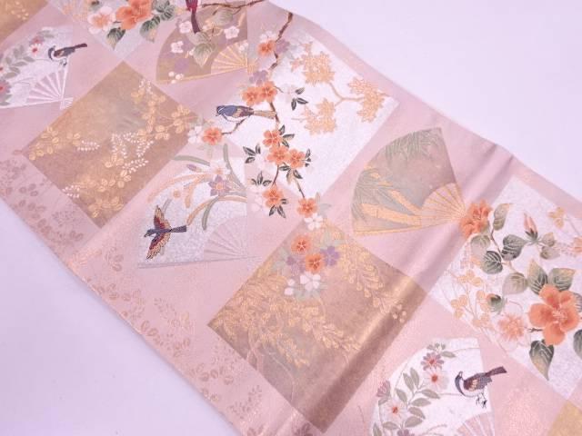 リサイクル 華匠風月模様織出し袋帯【送料無料】