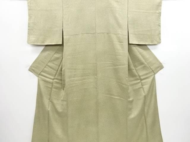 未使用品 仕立て上がり のり散らし模様小紋着物【送料無料】