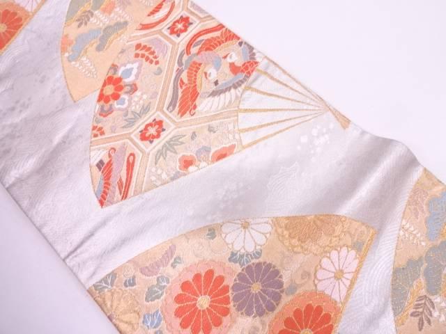 リサイクル 扇華豊麗文織出し袋帯【送料無料】
