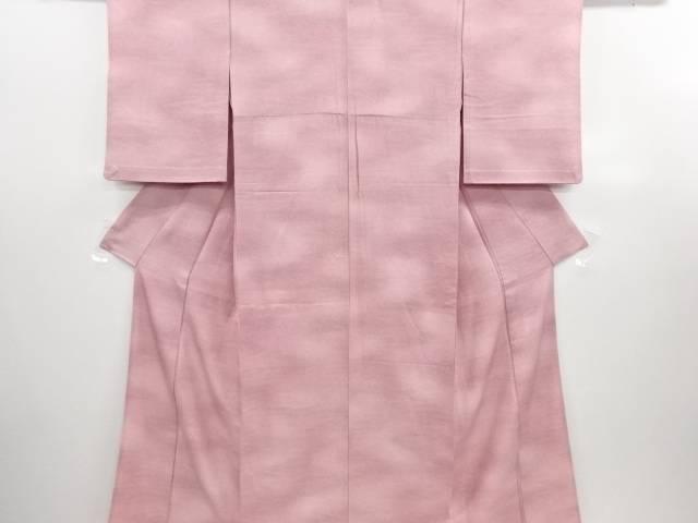 リサイクル 流水にのり散らし模様単衣小紋着物【送料無料】