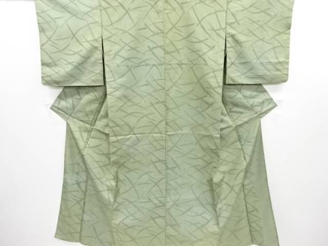 リサイクル 透かし織菊・牡丹模様着物【送料無料】