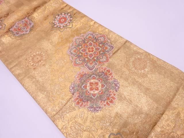 リサイクル 献上更紗華紋織出し袋帯【送料無料】