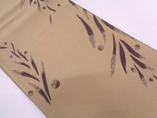 リサイクル 抽象模様織出し袋帯【送料無料】