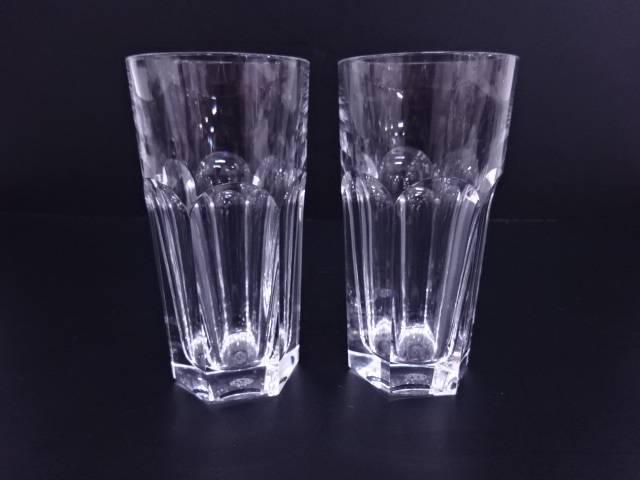 【ガラス】Baccarat アルクール ペアタンブラー 【送料無料】
