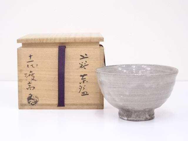 【茶道具】上野焼 渡高久造 茶碗【送料無料】