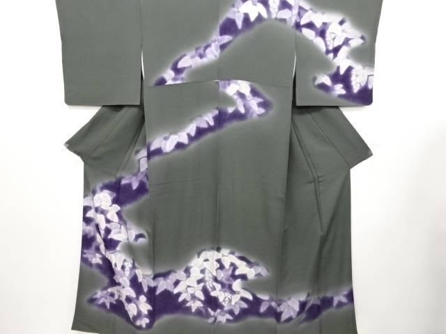 リサイクル おしゃれ 着物 和装 きもの 手描き花蕾模様訪問着【送料無料】[和服 かわいい]