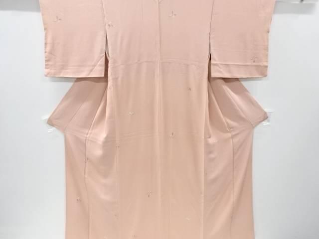 リサイクル 枝の実模様小紋着物【送料無料】[和服/和装/着物/きもの]
