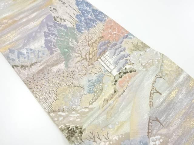 リサイクル 湖北の星模様織り出し袋帯【送料無料】[和服/和装/着物/きもの/帯]