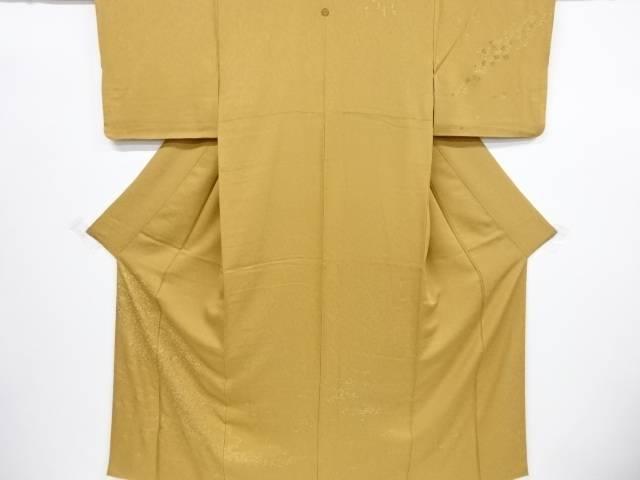 リサイクル 東京ますいわ屋 手刺繍流水に花模様一つ紋訪問着【送料無料】[和服/和装/着物/きもの]