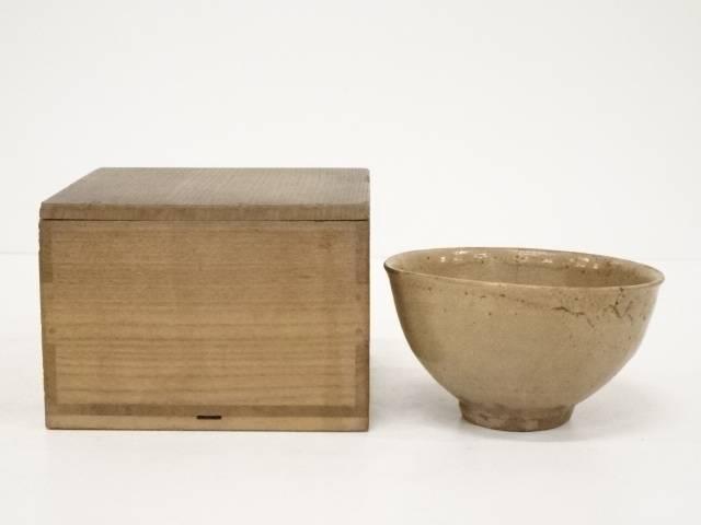 【茶道具】古物 萩焼 古萩茶碗 □p【送料無料】