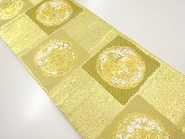 リサイクル 鳳凰花更紗織り出し袋帯【送料無料】