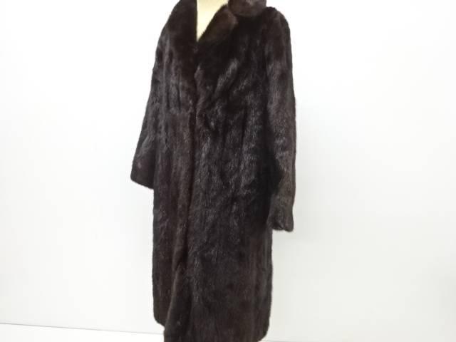 人気上昇中 72時間タイムセール35%オフ 茶道具 着物 送料無料 リサイクル ミンクコート 11号 レディース 毛皮 ファッション 流行 アウター かわいい おしゃれ
