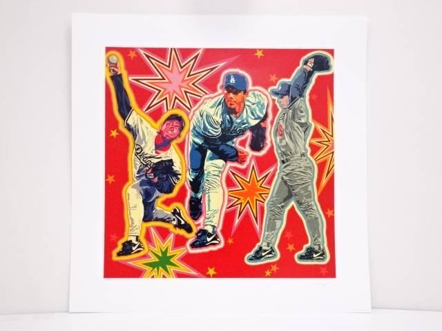 【夏セール50%オフ!】【アンティーク】絵画 ヒロ・ヤマガタ「NOMO」シルクスクリーン CLXXIX/CCCV【送料無料】