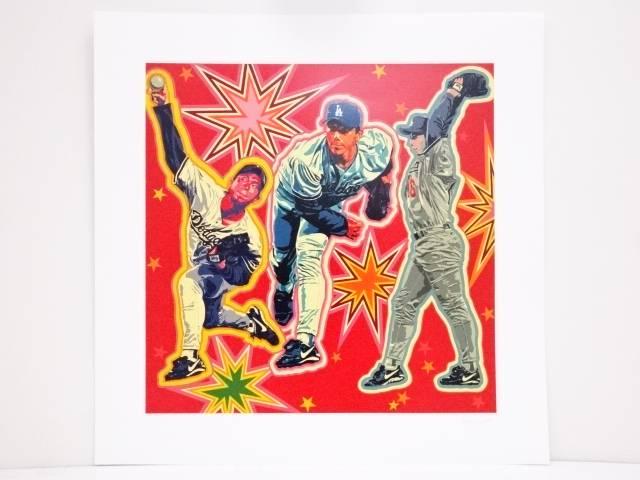 【スーパーSALE50%オフ!】【アンティーク】絵画 ヒロ・ヤマガタ「NOMO」シルクスクリーン CXLLLI/CCCV【送料無料】