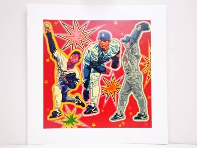 【残暑セール50%オフ!】【アンティーク】絵画 ヒロ・ヤマガタ「NOMO」シルクスクリーン CXLV/CCCV【送料無料】