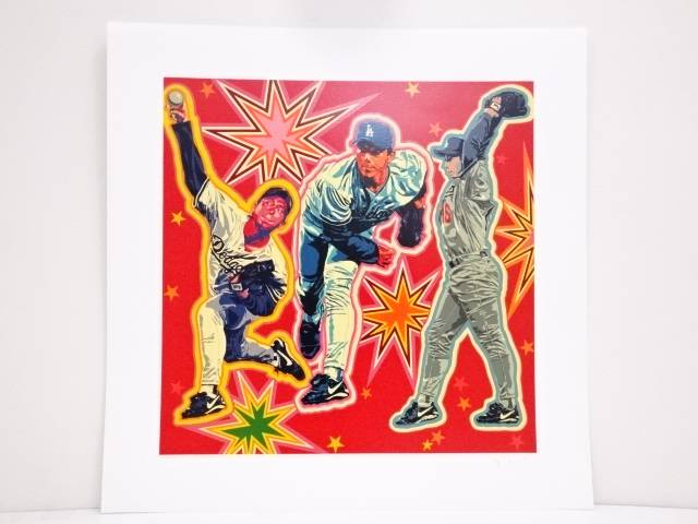 【スーパーSALE50%オフ!】【アンティーク】絵画 ヒロ・ヤマガタ「NOMO」シルクスクリーン CXLI/CCCV【送料無料】