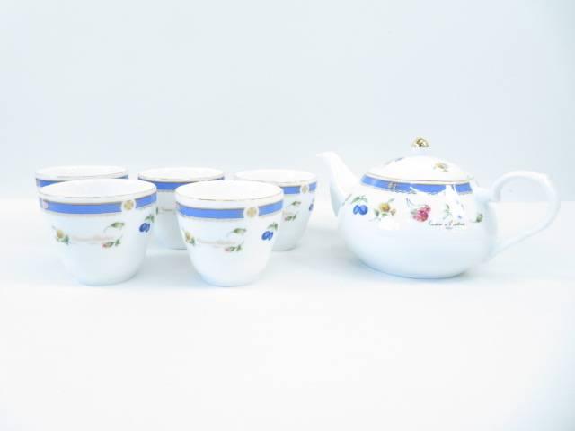 【ハッピーサマーセール35%オフ!】【陶芸・陶器】ジョバン・バレンチノ ティーセット【送料無料】