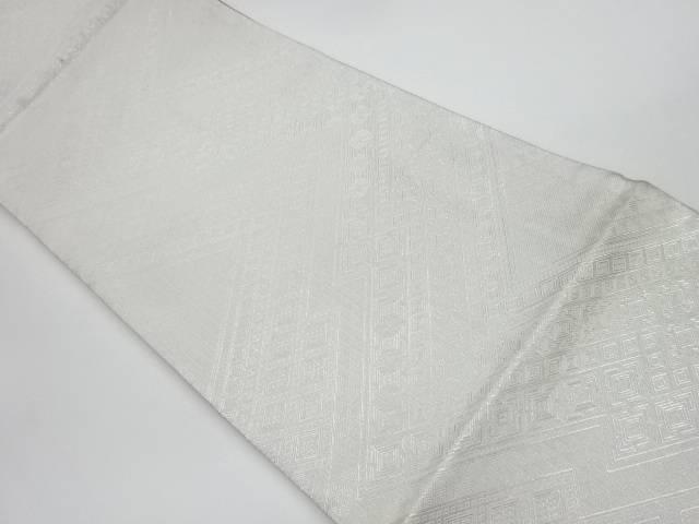 茶道具 着物 価格 送料無料 リサイクル 佐賀錦幾何学模様織出しリバーシブル全通袋帯 和服 格安SALEスタート 和装 かわいい きもの おしゃれ 帯